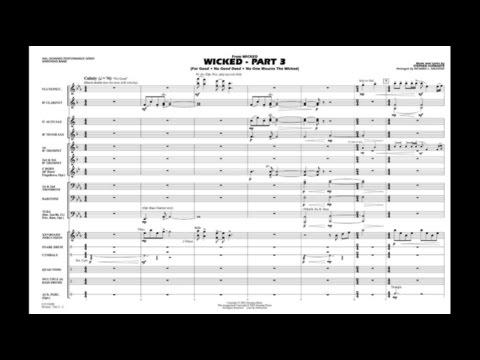 Wicked - Part 3 by Stephen Schwartz/arr. Richard L. Saucedo