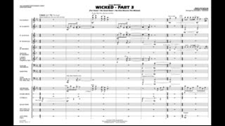 Wicked - Part 3 by Stephen Schwartz/arr. Richard L. Saucedo