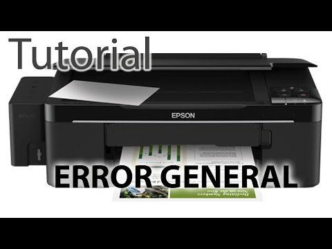 Como reparar una Impresora Epson - Error de Scanner