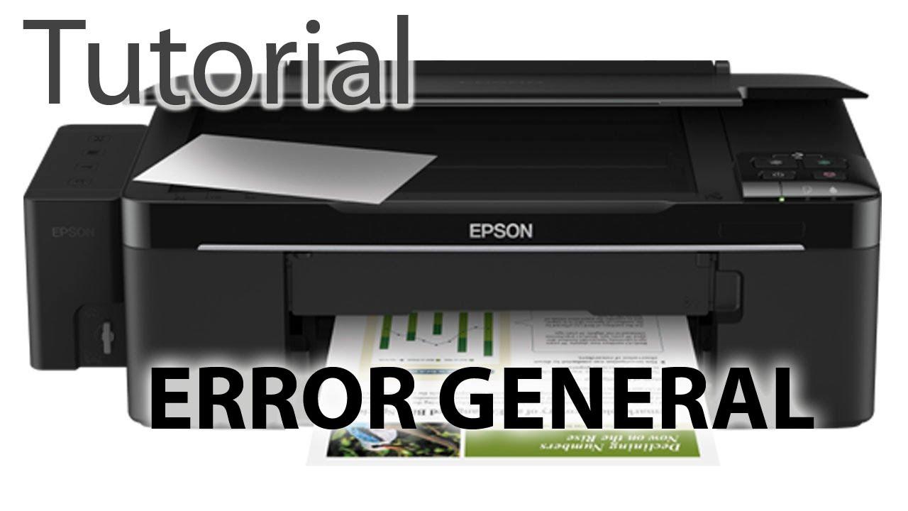 Como Reparar Una Impresora Epson Error De Scanner Youtube