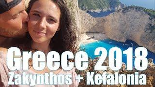 Greece paradise 2018: Zakynthos + Kefalonia