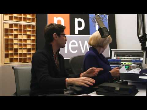 NPR Plays, Nina Totenberg unboxes the PS4 assisted  intern Isaac Chaput