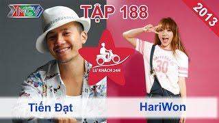 Tiến Đạt vs. Hari Won | LỮ KHÁCH 24H | Tập 188 | 201013
