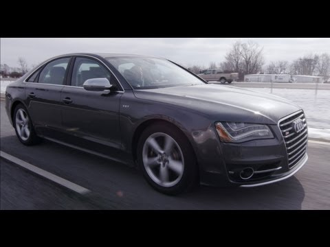 2013 Audi S8 - Review - CAR and DRIVER