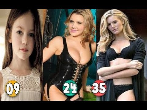 Maggie Grace ♕ Transformation From A Child To 35 Years OLD