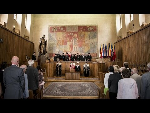 Jan Hus and the University of Prague - Ceremonial plenum