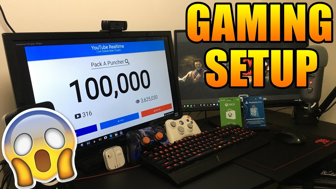 SMALLEST Gaming Room Setup In The WORLD  2017 YouTube