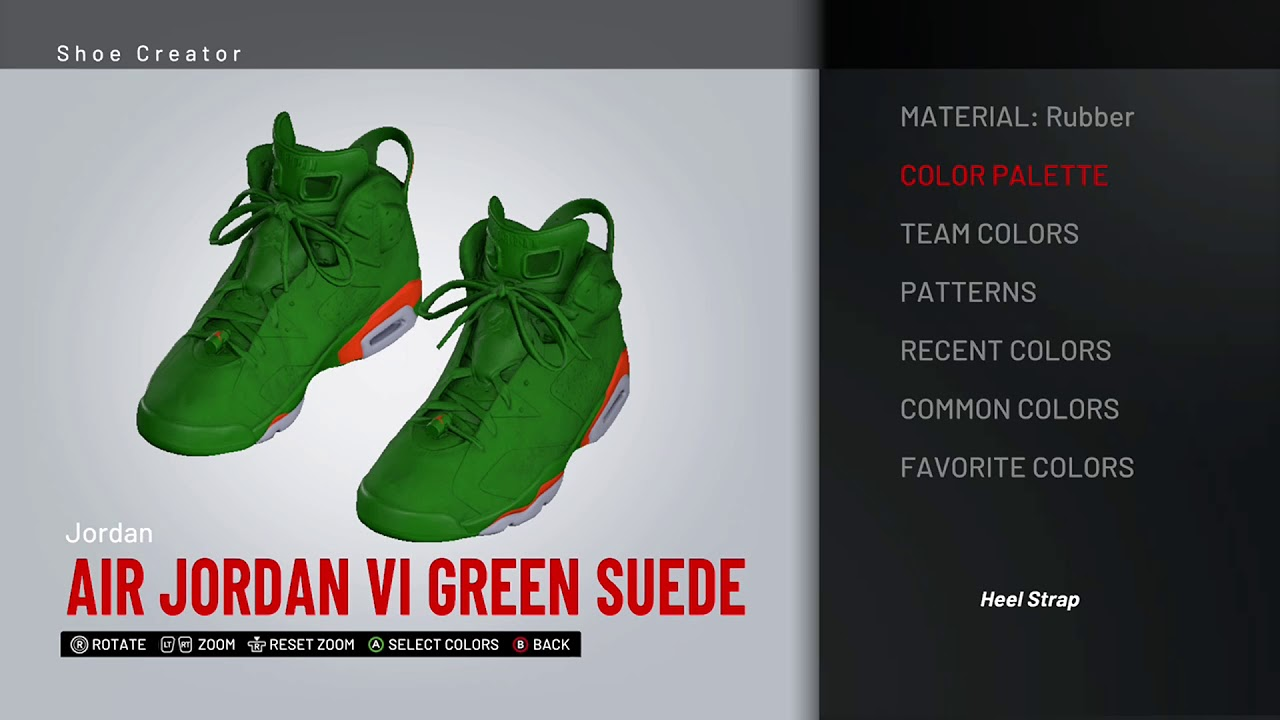 5985032fca7fd0 NBA 2K19 Shoe Creator - Air Jordan 6