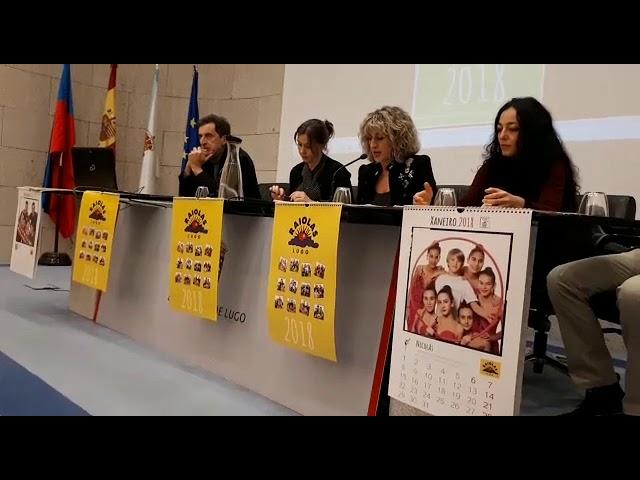 La asociación Raiolas presenta su calendario solidario