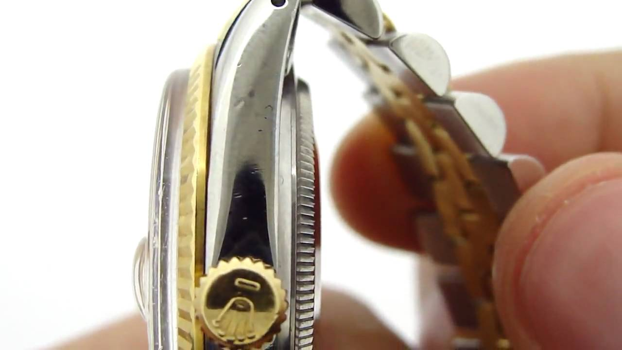 Rolex Datejust 10613 From 1984 Youtube