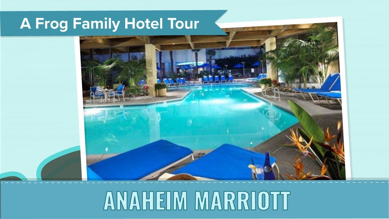 Anaheim Marriott Hotel Tour, an Undercover Tourist Photo Album - YouTube