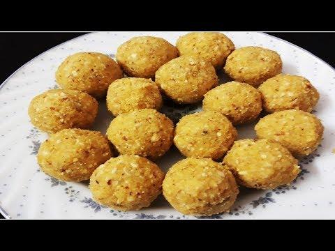 moong-dal-ladoo-|-indian-sweet-|-instant-ladoo-recipe
