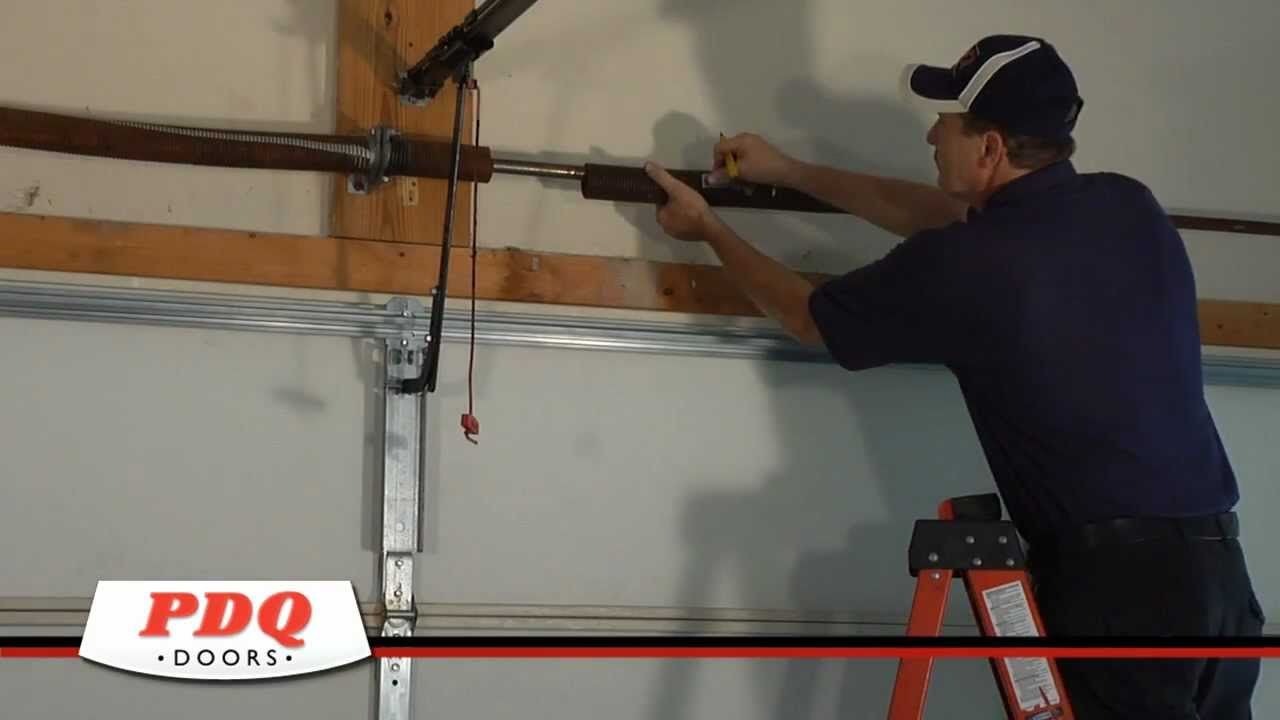 Broken Garage Door Spring? Garage Door Spring Replacement PDQ Doors Cincinnati Ohio & Broken Garage Door Spring? Garage Door Spring Replacement PDQ Doors ...