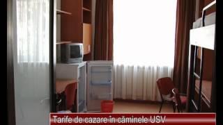 Tarife de cazare in caminele USV 07.09.2012