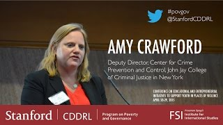 Amy Crawford, Center for Crime Prevention and Control (John Jay College of Criminal Justice (NY))