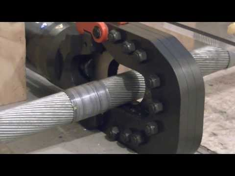 Steel Cable Cutting Test Youtube