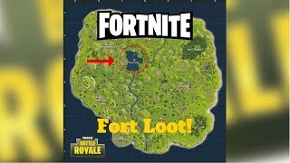 Fortnite Season 1 Episode 3; Fort in the Bottom of Loot Lake