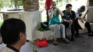 Blind Men from Malaysia Blind Association Music Performance Part 3