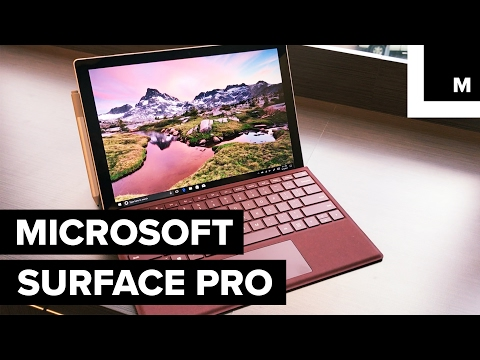 Microsoft's latest, sleekest Surface Pro