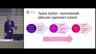 Taidot työhön -uravalmennus | Salla Toppinen-Tanner & Niina Jallinoja
