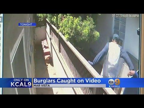 Police Searching For Serial Burglars In Mar Vista Area