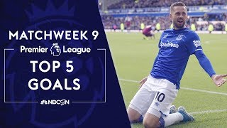 Top 5 goals from Premier League 2019/20 Matchweek 9 | NBC Sports