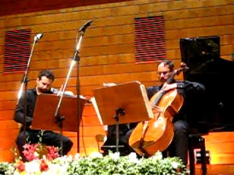 J Brahms, Trio in Si major - ILYA GRINGOLTS, ITAMAR GOLAN, GARY HOFFMAN