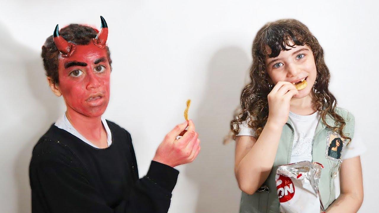 الشيطان ضد حبيبة !!  Shaitan vs Habiba