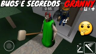 BUGS E SEGREDOS DE GRANNY DO ROBLOX