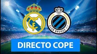 (SOLO AUDIO) Directo del Real Madrid 2-2 Brujas en Tiempo de Juego COPE