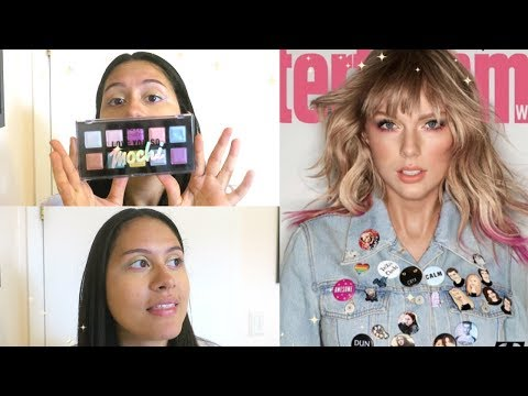 recreating Taylor Swift's eye makeup !!super easy!! thumbnail
