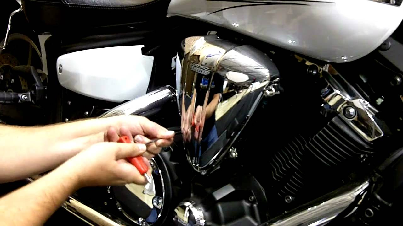 How To Install Air Cleaner On Yamaha