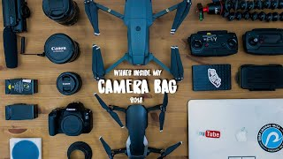 What's in my camera bag 2018
