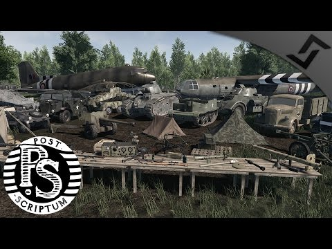 Post Scriptum WW2 Full Conversion for SQUAD - Developer Interview w/ Gameplay Screens/Footage