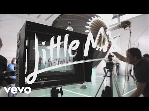 Little Mix - Word Up Behind The Scenes