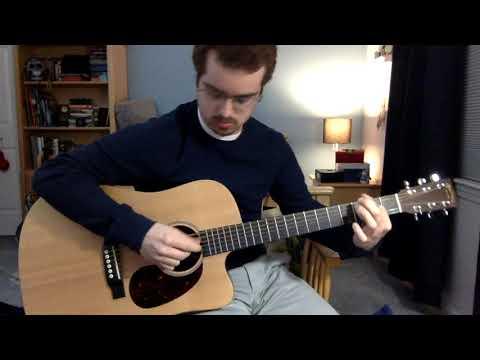 joni mitchell - -hejira- guitar cover
