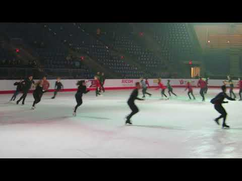 Canadian Skating Championships Gala Practice Group Number #3