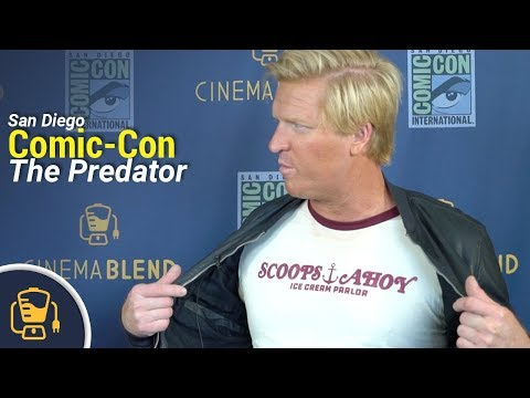 Jake Busey On His Roles In The Predator & Stranger Things Season 3   SDCC 2018