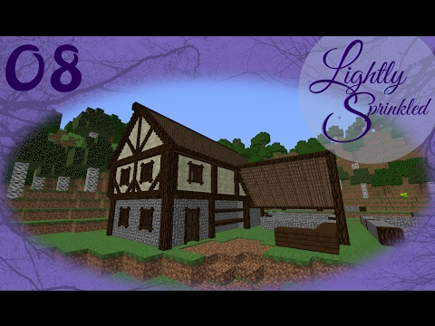 Modded Minecraft: Lighlty sprinkled: Chisel and bits Bakery pt01 (ep08)