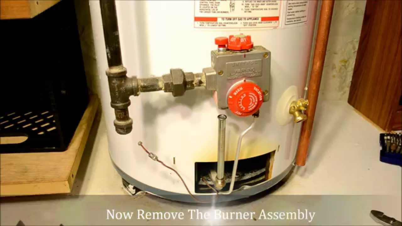 How To Install Replace A Thermocouple In A Hot Water