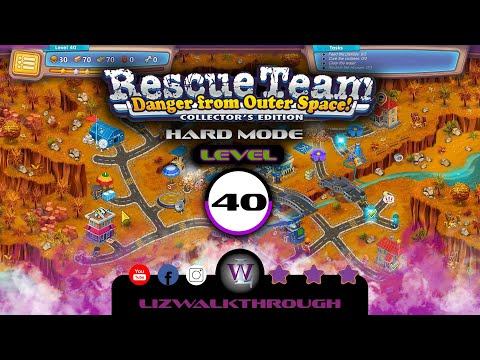 Rescue Team 10 CE - Level 40 Walkthrough - Danger from Outer Space! |