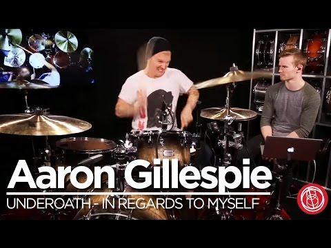 In Regards to Myself  Drum Lesson  Aaron Gillespie of Underoath