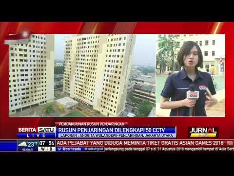 Rusun Penjaringan Diklaim Berstandar Keamanan Sekelas Apartemen