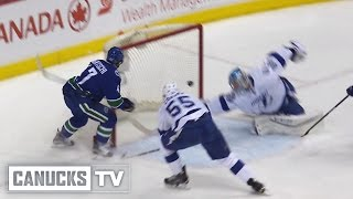 Sven Baertschi 1-1 Goal vs Lightning (Jan. 09, 2016)