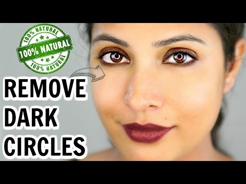 How To Remove Under Eye Dark Circles | 100% Natural Remedy | ShrutiArjunAnand