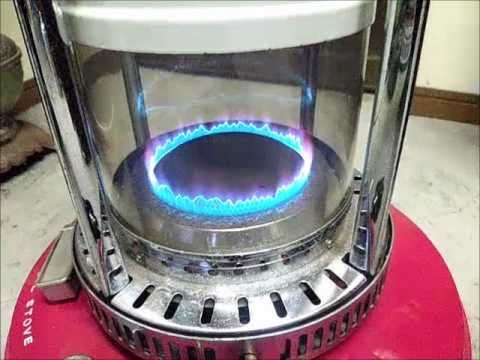 Japanese Blue Flame Heater Hsk 1136 Youtube