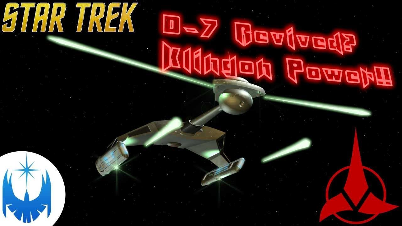 The TRUE Klingon D-7 Cruiser Returning!! Explaining the Design!