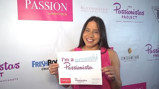 The Passionistas Project at Passion to Paycheck with Lupe Llerenas