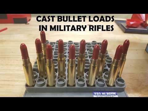 Cast Lead Bullets