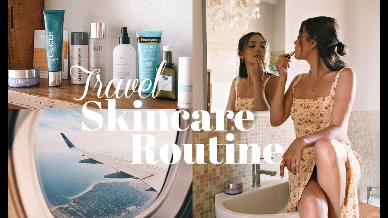 TRAVEL SKINCARE ROUTINE | This Saved My Skin!